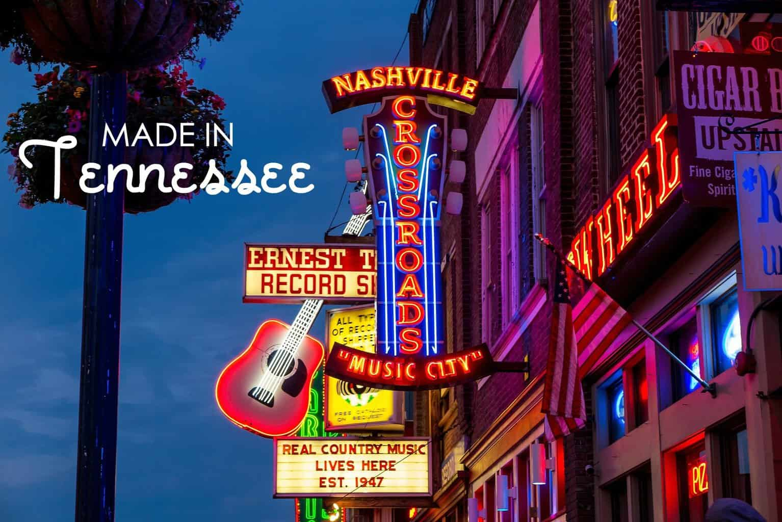 10 Things We Love Made In Tennessee USA Love List
