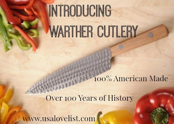 american made kitchen knives faucet touchless introducing 100 by warther cutlery usa love list