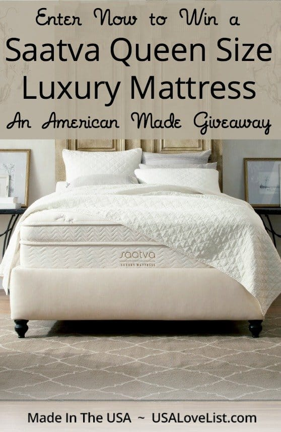 Saatva Luxury Mattress Giveaway Via Usalovelist