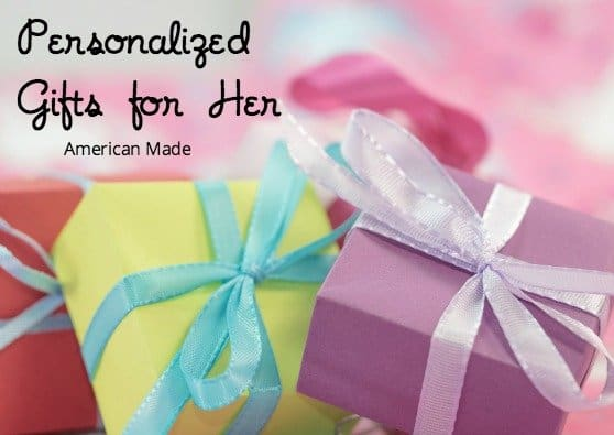 american made personalized gifts