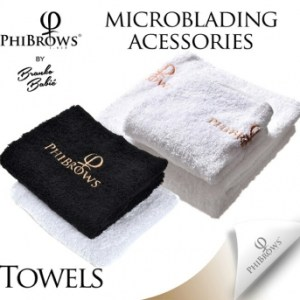 PhiBrows Towel- Black