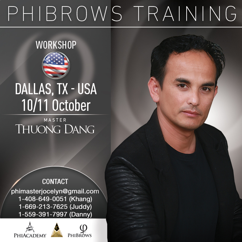 Phibrows Microblading Dallas Tx Usa October 10 11 2018 Usa