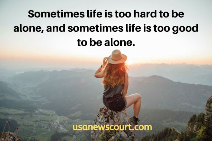 145 Best Solitude and Alone Quotes 2020
