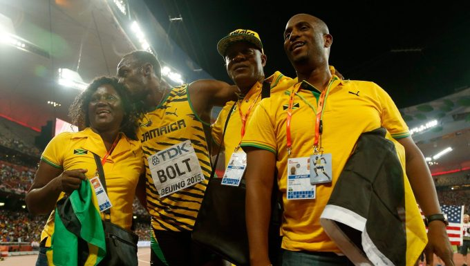 Usain Bolt Family
