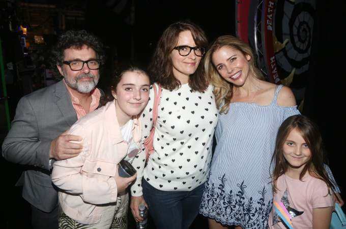 Tina Fey Family