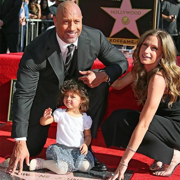 Dwayne Johnson Family
