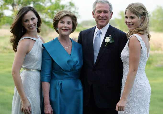 George W Bush Family