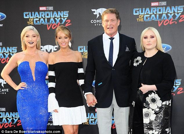 David Hasselhoff Family