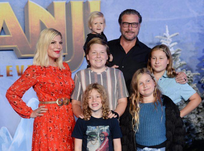 Tori Spelling Family