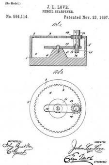 Black Man Invented Pencil Sharpener