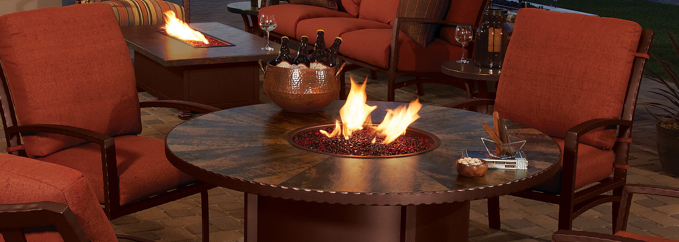 OW Lee Fire Pit Tables  OW Lee Fire Tables