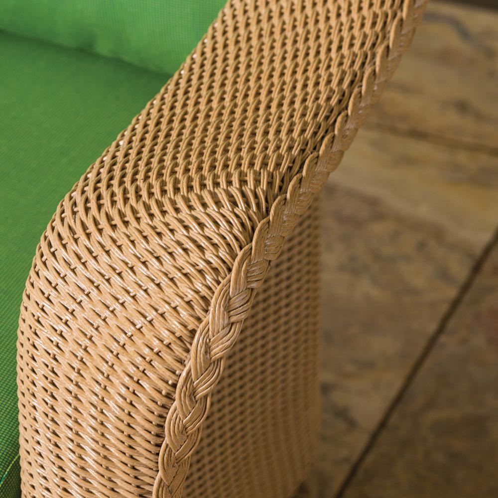 Lloyd Flanders Reflections Loom Wicker Patio Sofa Set Lf