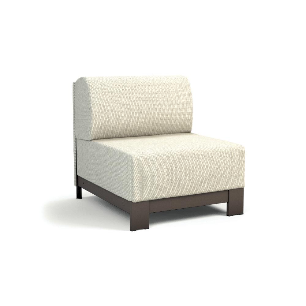 Homecrest Allure Sectional Armless Club Chair 1135a