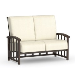 Liberty Sofa And Motion Loveseat Off White Leather Set Homecrest Cushion 1642a