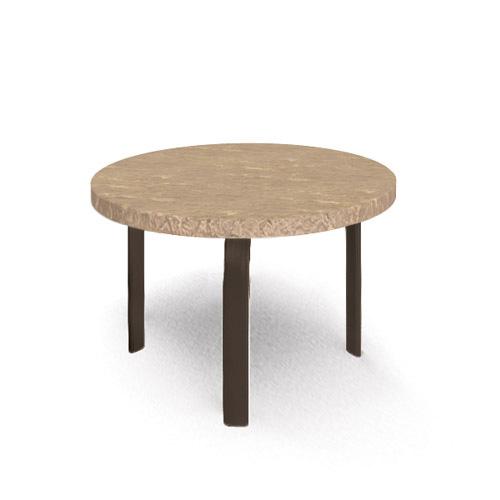 homecrest sandstone 24 round side table