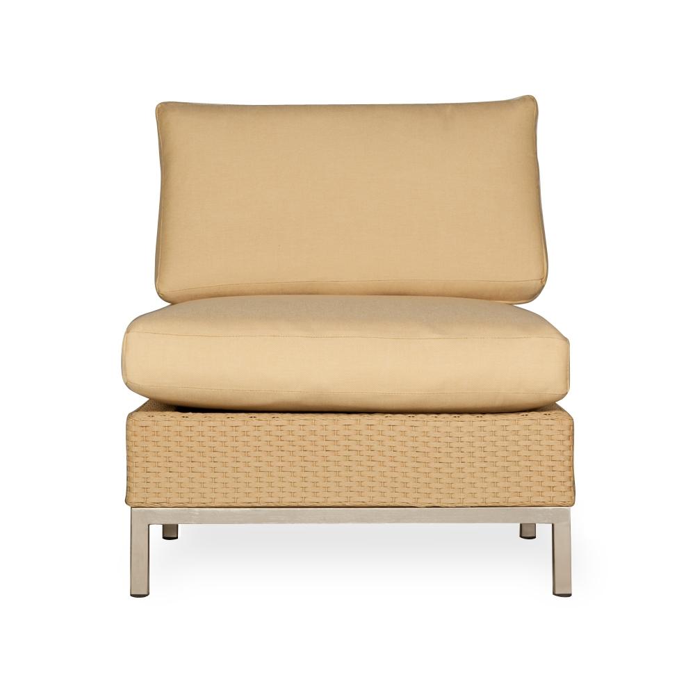 sunbrella fabric sectional sofas leather sofa recliner lloyd flanders elements u-shaped wicker set | lf ...