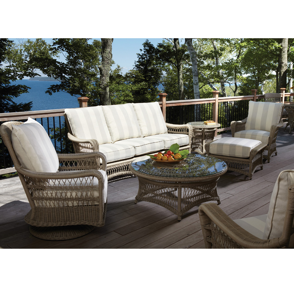 vinyl wicker chairs swing chair with stand lloyd flanders fairhope sofa patio set lf set3