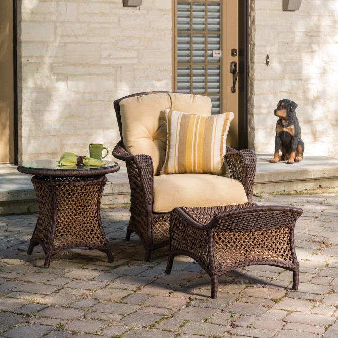 vinyl wicker chairs pier one rooster chair lloyd flanders grand traverse 3 piece lounge set lf grandtraverse set15