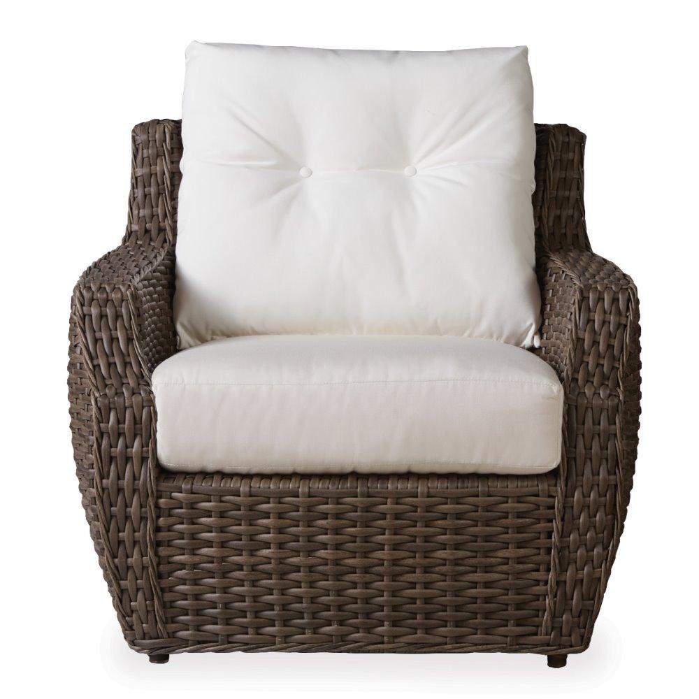 vinyl wicker chairs la z boy lift chair parts lloyd flanders largo 2 piece bunching table