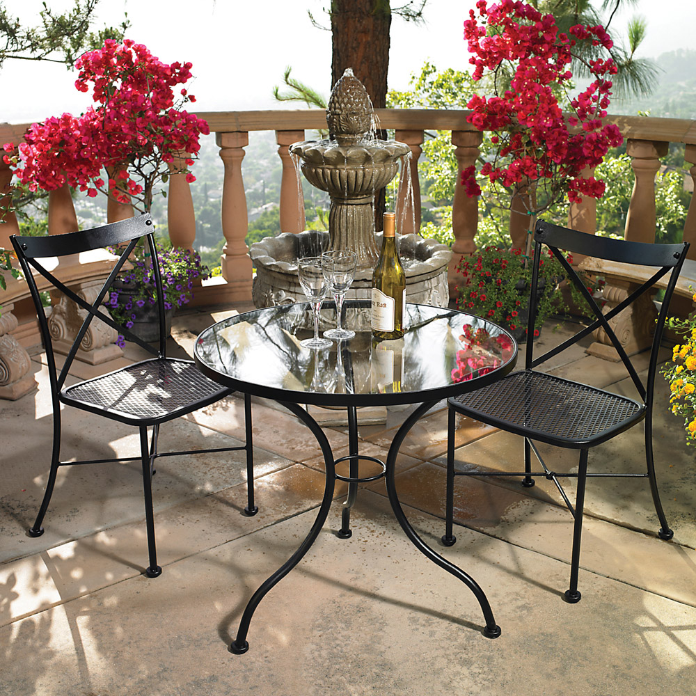 ow lee villa 3 piece bistro dining set
