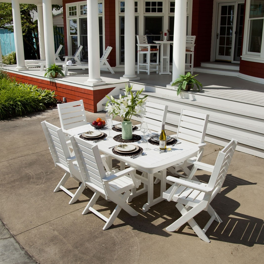 Polywood Traditional Garden 5 Piece Dining Set Pw