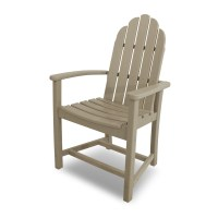 POLYWOOD Classic Adirondack Dining Chair | ADD200