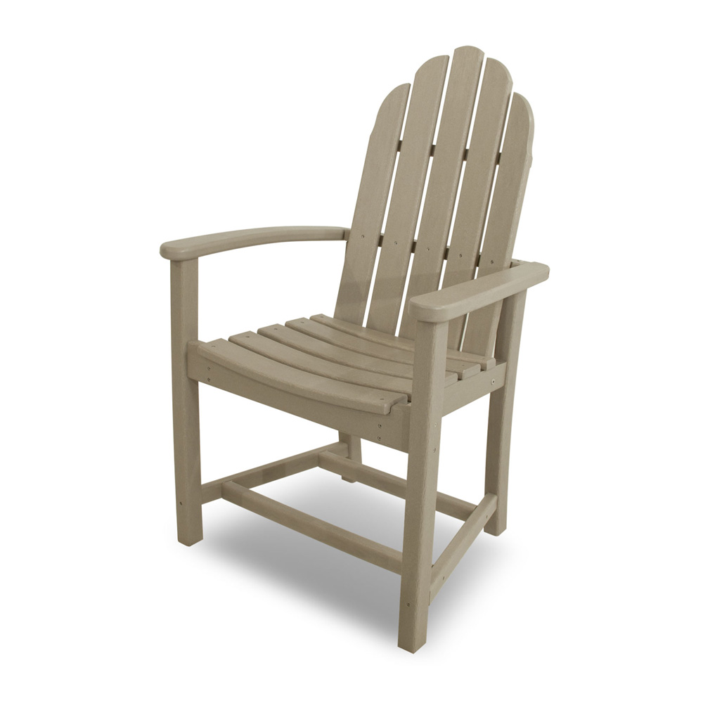 adirondack style dining chairs office chair ottoman polywood classic add200