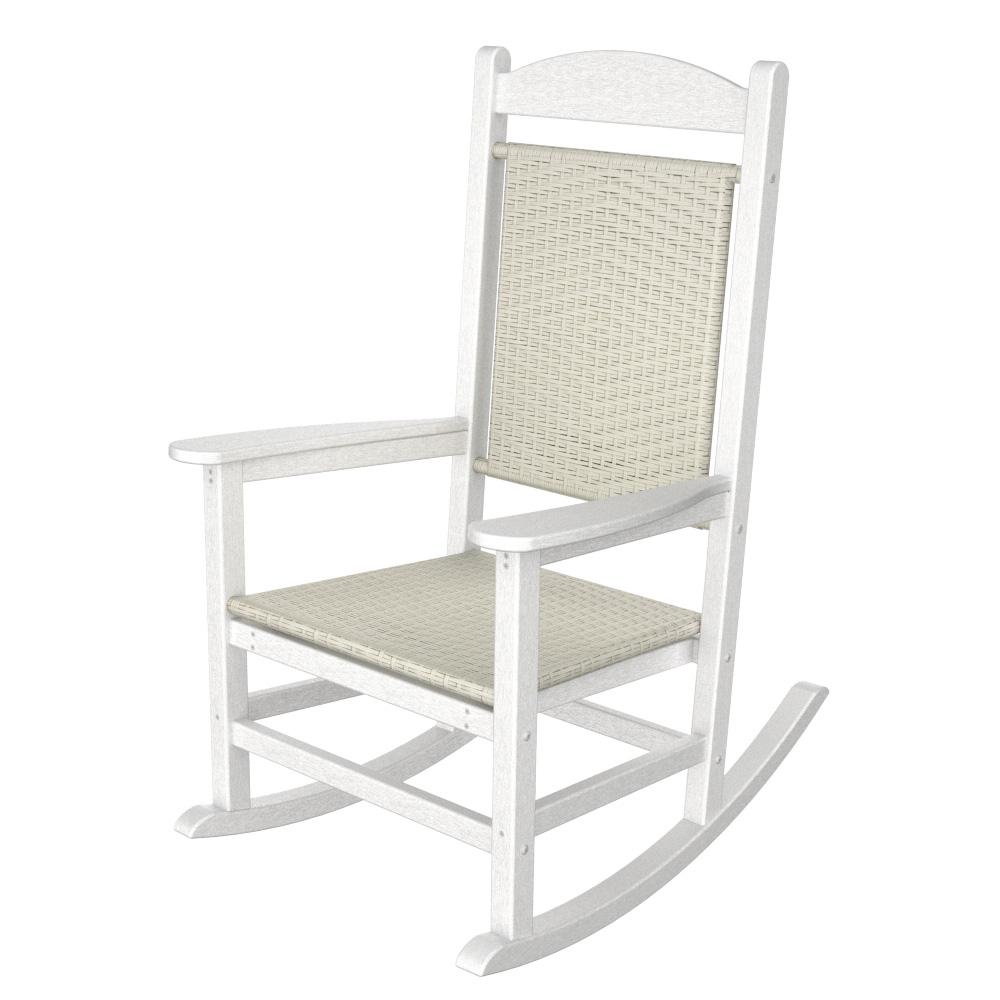 woven rocking chair folding bed argos polywood presidential rocker r200