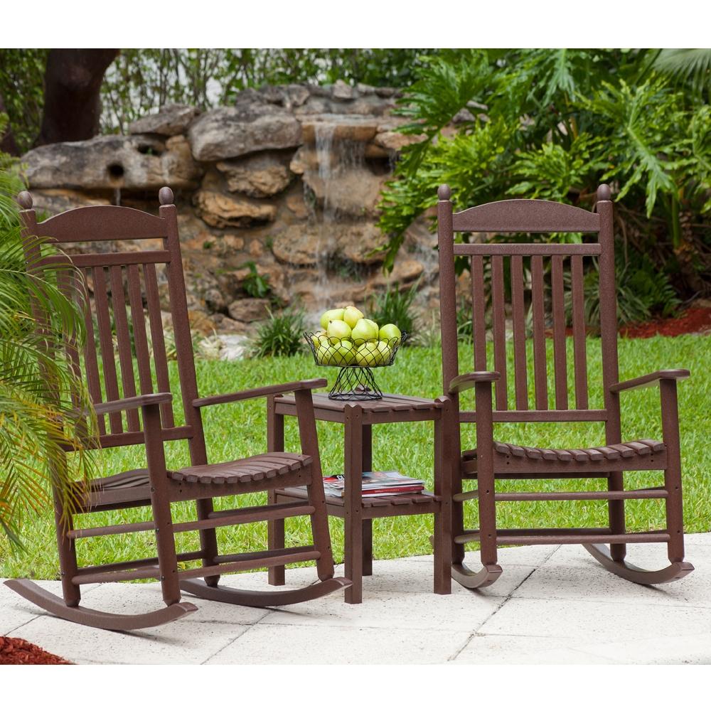 Polywood Jefferson Rocking Chair Set Pw-rocker-set3