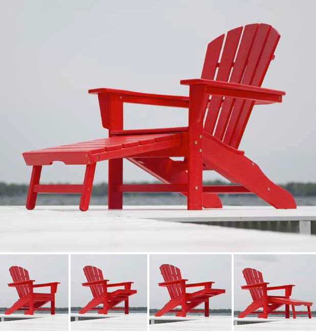polywood classic adirondack chair chinese rosewood chairs south beach ultimate hna15
