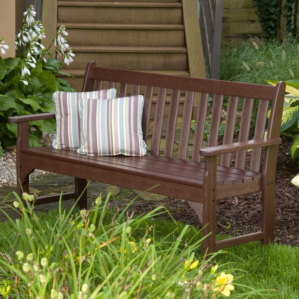 Polywood 174 Vineyard 48 Inch Garden Bench Gnb48
