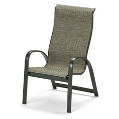 Sling Chair Outdoor Metal Armchair Telescope Casual Primera Supreme Stacking Arm 9000 High Back