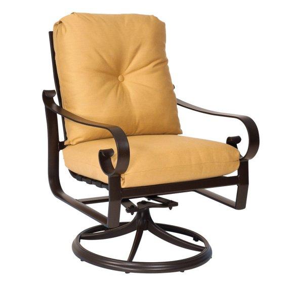 Woodard Belden Cushion Swivel Rocking Lounge Chair  690477M