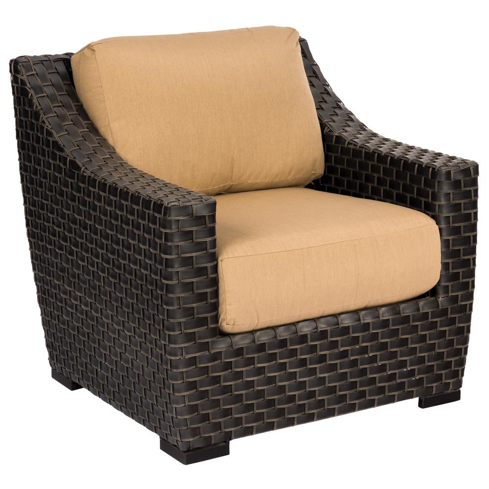 Woodard Cooper Rectangular Wicker Coffee Table S640211
