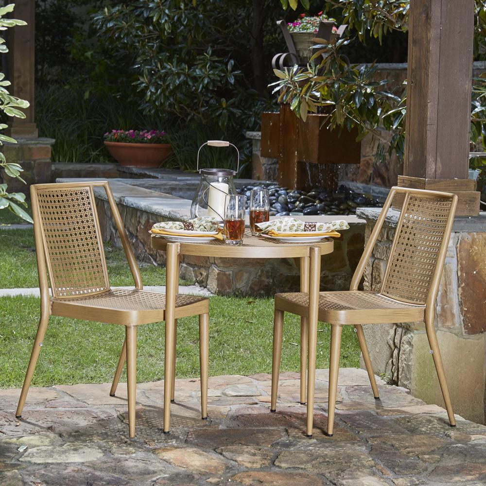 Woodard Parc 3 Piece Rocking Chair Set Wd-parc-set2