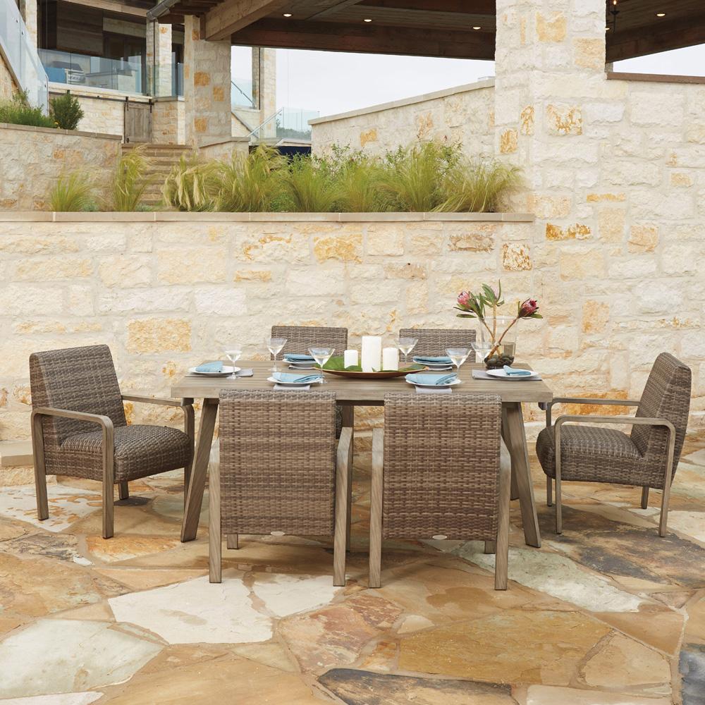 Woodard Reynolds Wicker Lounge Chair S505011