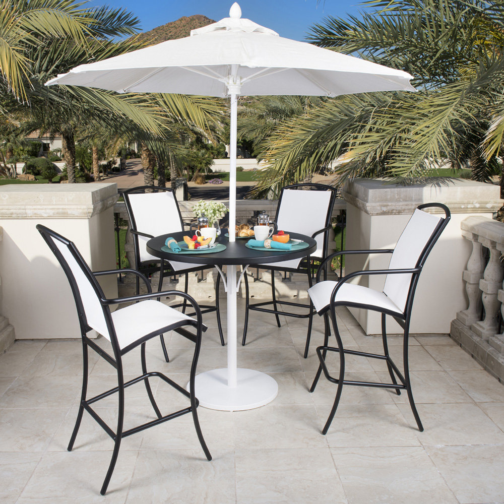 Woodard Rivington Sling Dining Chair - Stackable 6a0417