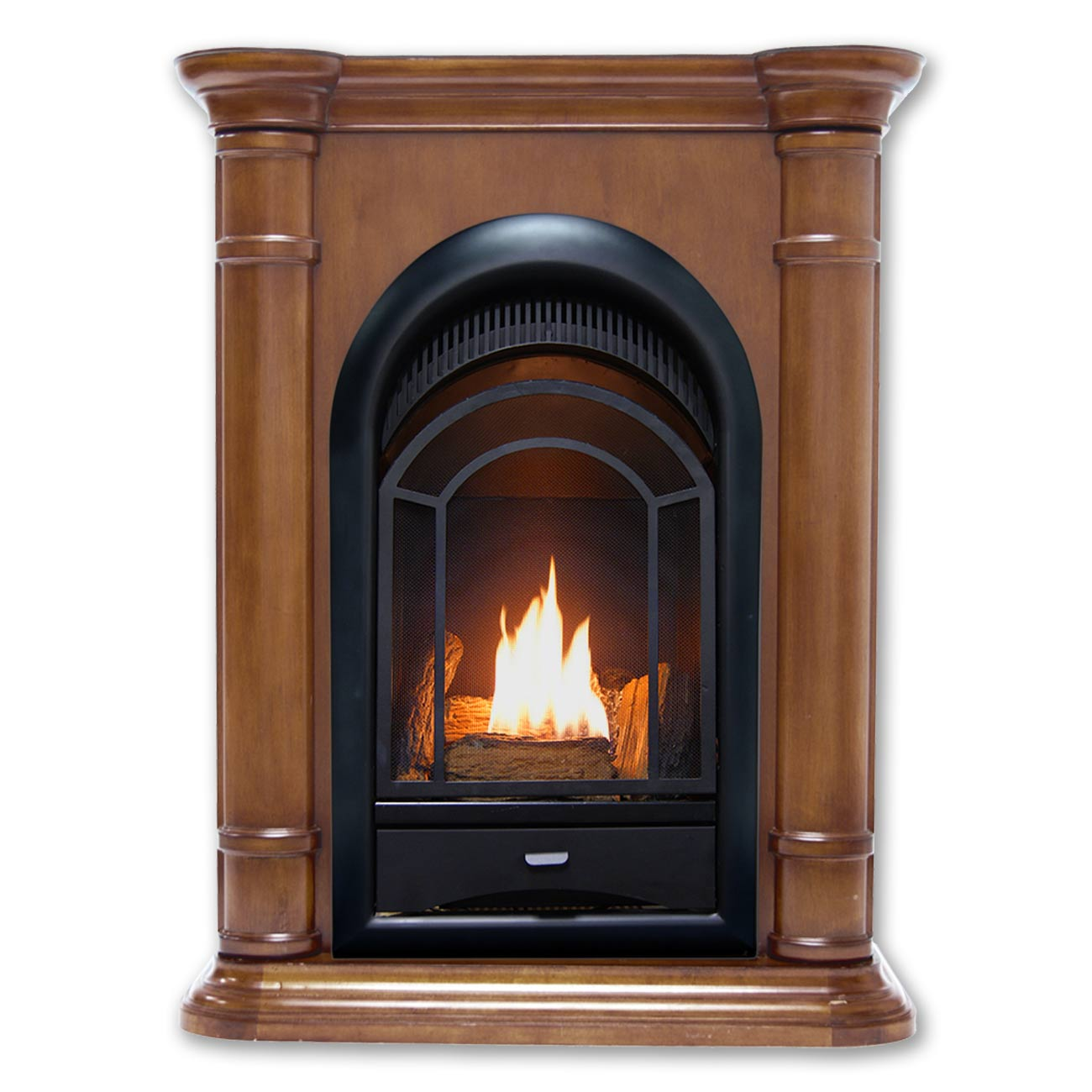 Hearthsense Dual Fuel Ventless Fireplace 15 000 Btu S