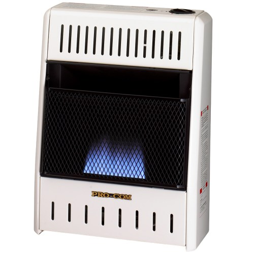 small resolution of ventless blue flame propane gas wall heater 10 000 btu