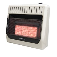 Ventless Propane Gas Wall Heater Thermostat Control ...