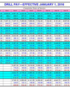 Military pay chart also army reserve ganda fullring rh
