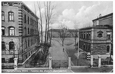 USAREUR Partial Photos  Aschaffenburg Wehrmacht Kasernes