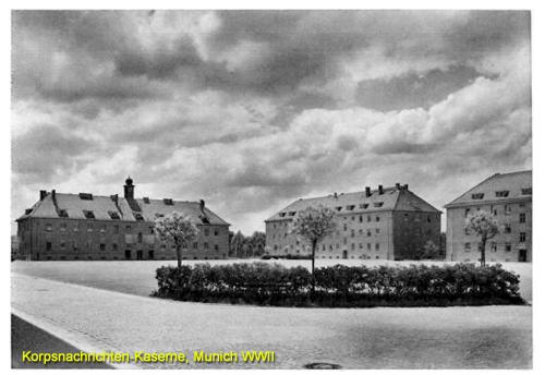 USAREUR Partial Photos  Munich Wehrmacht Kasernes