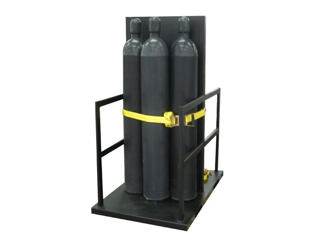 Gas Cylinder Pallet 12 Tanks Firewall GP2080FS
