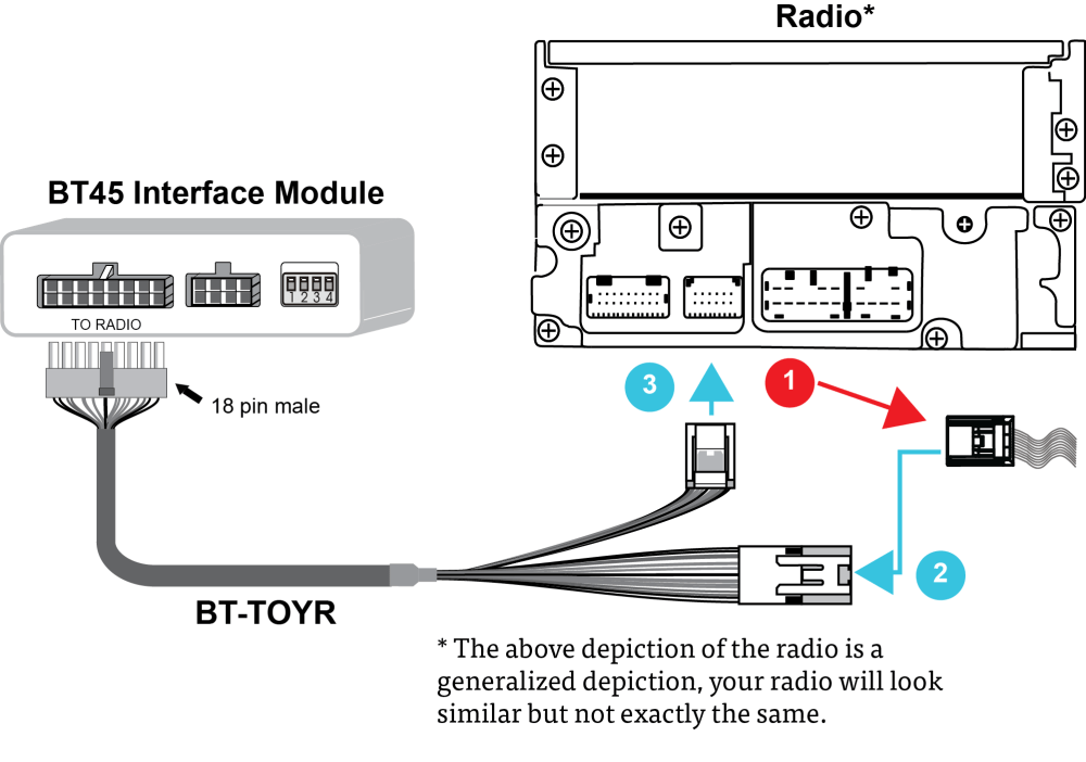medium resolution of bt toyr cable connection diagram
