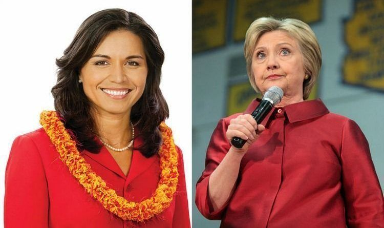 Gabbard Clinton wordpress