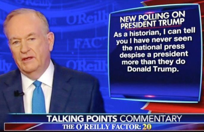 "O'Reilly: The Hatred Towards Trump Has Reached a ""Dangerous Level"""