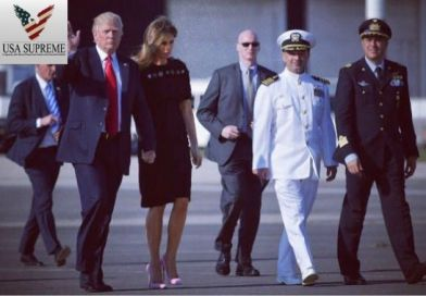 Melania and Donald Are Heading Home After A Very Successful First International Trip