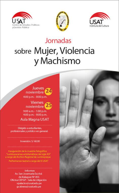 Jornadas sobre Mujer, Violencia y Machismo