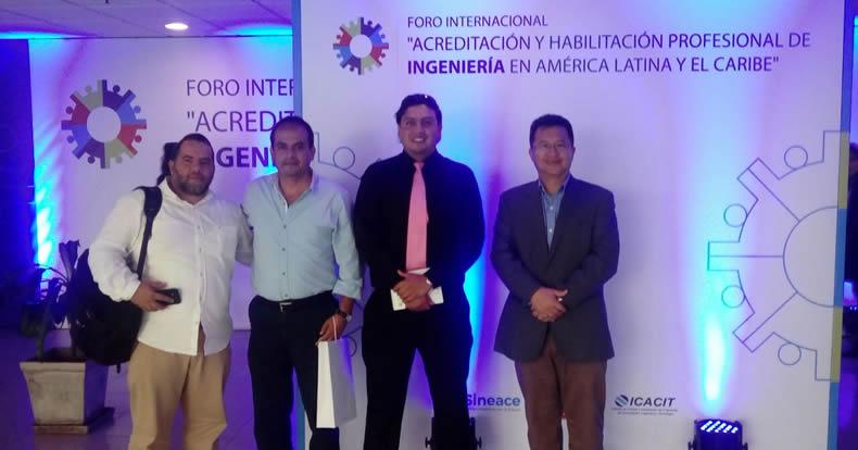 Profesores USAT participan en Foro Internacional de Ingeniería